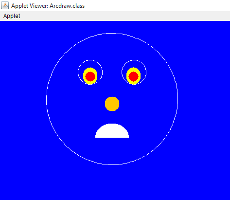 Graphics Program in Java Through Applet