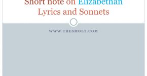 Elizabethan Lyrics and Sonnets