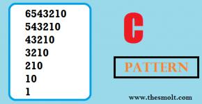 Pattern Program in C