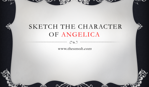 Character of Angelica in love for love