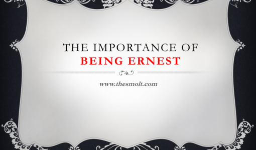 Importance of Being Earnest as a farce