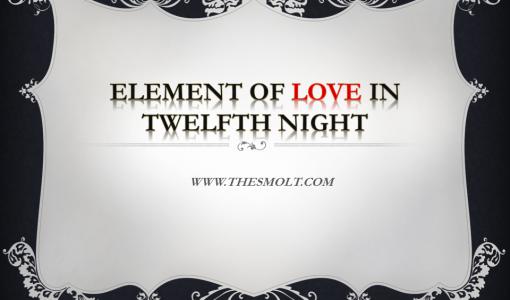 love theme in twelfth night