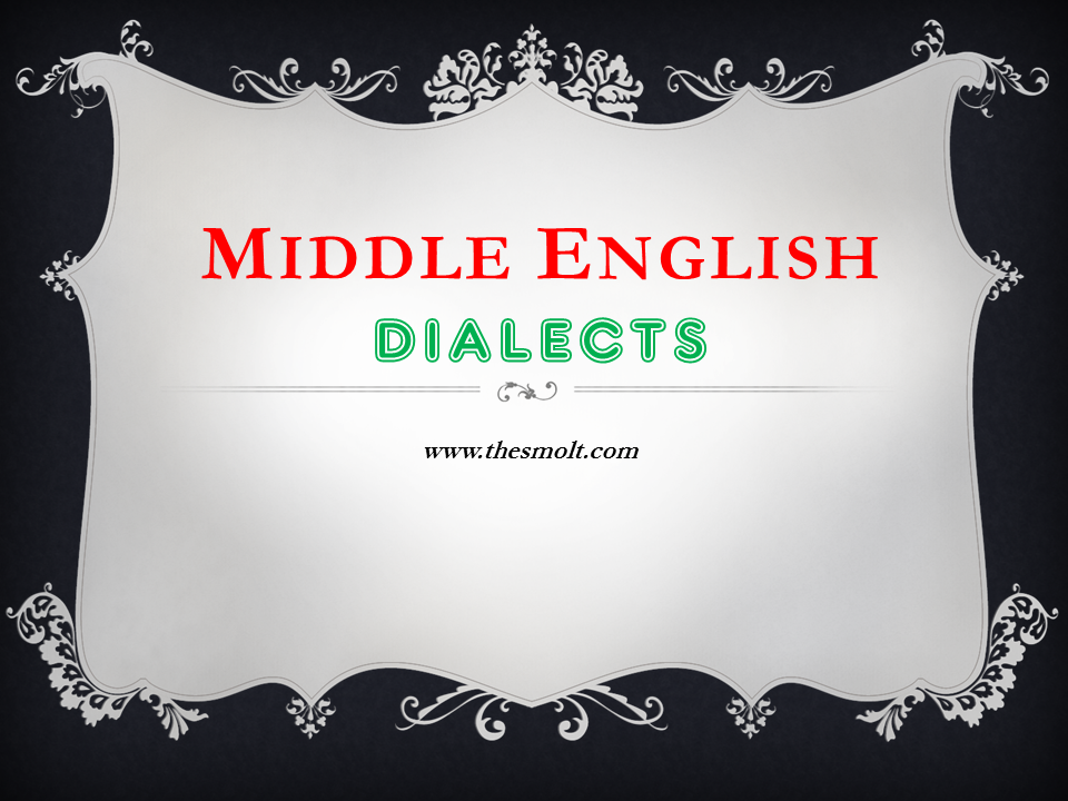 dialects of middle english