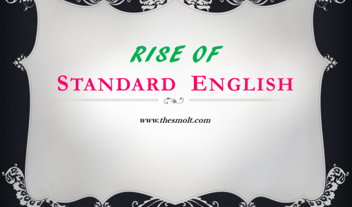 Rise of standard English