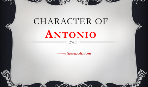 Character of Antonio in Merchant of Venice
