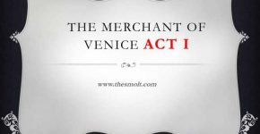 Act 1 scene 1 merchant of Venice