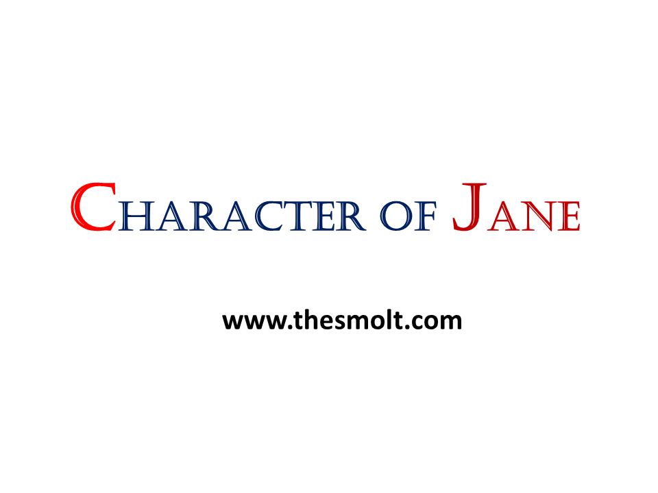 CHARACTER SKETCH OF JANE BENNET