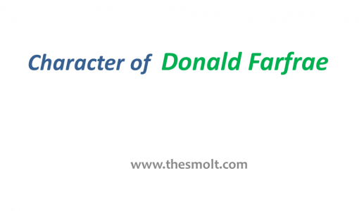 Donald Farfrae Character Analysis