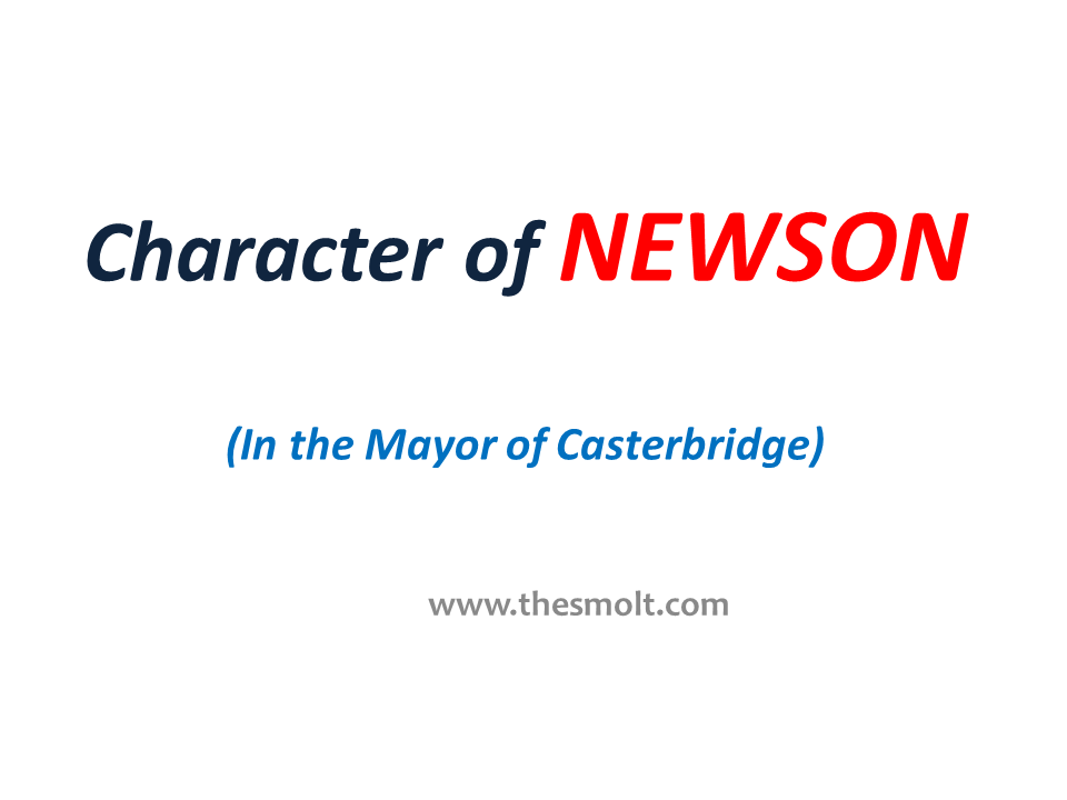 Character of NEWSON