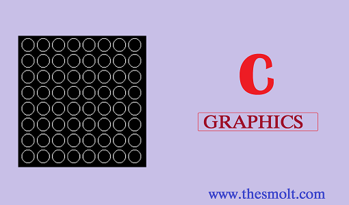 C program to draw a square using graphics