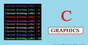 Text color in C programming