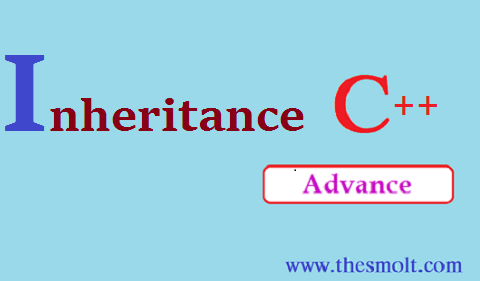 Inheritance program in c++