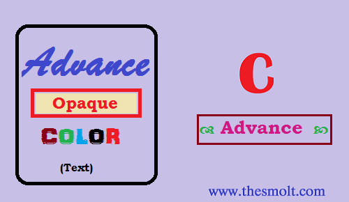 Adding color Text in C