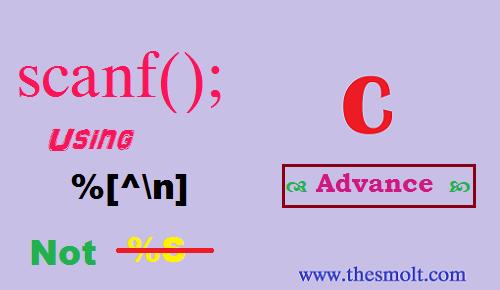 Print message in C using tilde