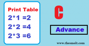Print a Table in C Program