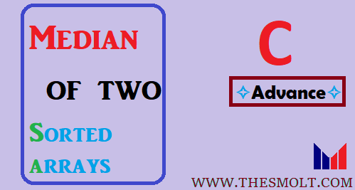 Find median of two sorted Arrays