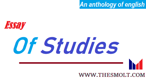 Francis Bacon essay of studies summary