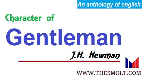 Define character of a Gentleman